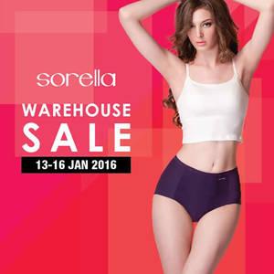 Featured image for Sorella Lingerie Warehouse Sale @ PJ Selangor 13 – 16 Jan 2016