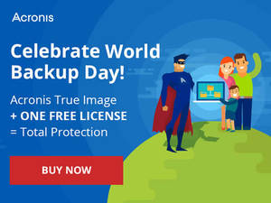 Featured image for Acronis 1-for-1 True Image Backup Software Promotion 26 Feb – 12 Apr 2016