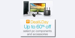 Featured image for Amazon.com Up to 60% Off Selected Computer Products 24hr Deal 29 Feb – 1 Mar 2016