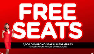 Featured image for Air Asia Free Seats Promotion 7 – 13 Mar 2016