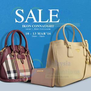 Featured image for Celebrity Wearhouz Designer Handbags Sale @ Kuala Lumpur 10 – 13 Mar 2016