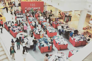 Featured image for F.O.S Clearance Event @ Curve 12 – 20 Mar 2016