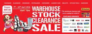 Featured image for Katrin BJ Warehouse Stock Clearance SALE @ Subang Jaya 7 – 10 Apr 2016
