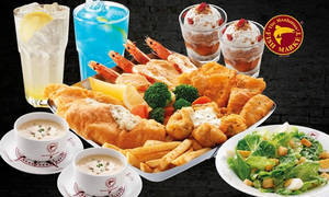 Featured image for Manhattan FISH MARKET 55% Off Seafood Platter (Dory) @ 21 Outlets From 25 Mar 2016