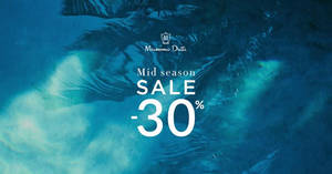 Featured image for Massimo Dutti Mid Season Sale From 31 Mar – 24 Apr 2016