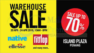 Featured image for Bratpack (Fitflop, Ellesse & More) Warehouse Sale 20 – 24 Apr 2016