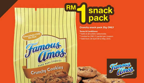 Famous Amos Feat 28 Apr 2016