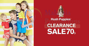 Featured image for Hush Puppies Apparel Clearance Sale at Atria Shopping Gallery from 29 Apr – 8 May 2016