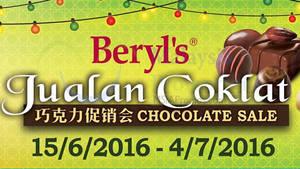 Featured image for Beryl's Chocolate Warehouse SALE at Seri Kembangan Selangor from 15 Jun – 4 Jul 2016