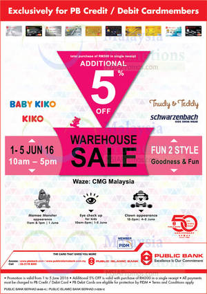 Featured image for John Master & Schwarzenbach Warehouse Sale at Puchong from 1 – 5 Jun 2016