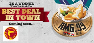 Featured image for Manhattan FISH MARKET RM6.99 Fish 'N Chips is BACK from 10 – 18 May 2016