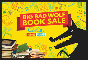 Featured image for Big Bad Wolf Books Sale at One City Subang Jaya from 16 – 26 Jun 2016