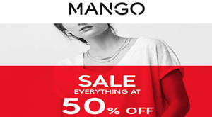 Featured image for Mango Sale 50% Off Everything Spring / Summer'16 Collection from 23 Jun 2016