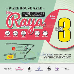 Featured image for Summit Shoes Warehouse Sale at Johor from 16 Jun – 3 Jul 2016