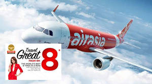 Featured image for Air Asia: Fr RM8 Travel Great Fares from 18 – 24 Jul 2016