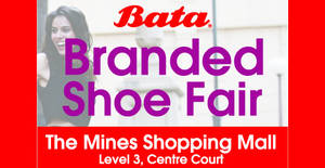 Featured image for BATA: Branded Shoe Fair – Prices from RM10 at The Mines from 25 – 31 Jul 2016