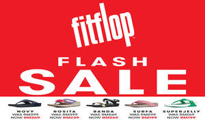Featured image for FitFlop: Nationwide Flash Sale from 27 – 31 Jul 2016