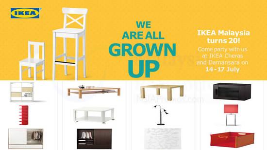 IKEA 20th Anniversary Deals Feat 10 Jul 2016