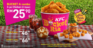 Featured image for KFC: Bucket RIA is BACK from 22 Jul 2016