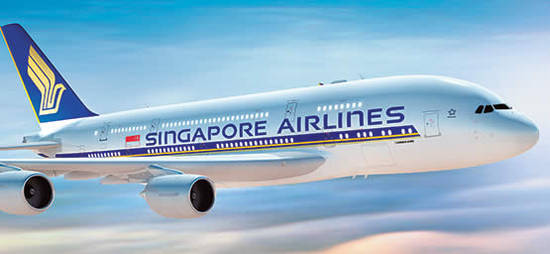 Singapore Airlines 27 Jul 2016