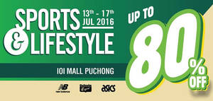 Featured image for Stream Enterprise: Sports & Lifestyle Fair at IOI Mall Puchong from 13 – 17 Jul 2016