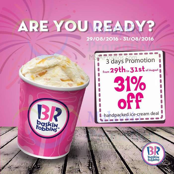 This is a graphic of Sizzling Baskin Robbins Printable Coupons 2020