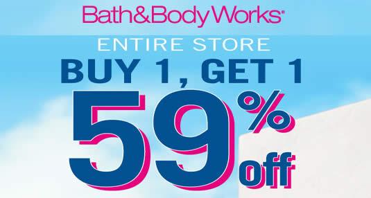 Bath Body Works Feat 31 Aug 2016