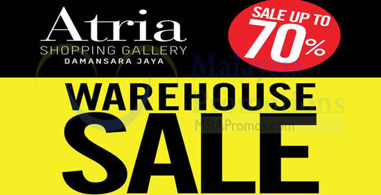 Branded Warehouse Sale Feat 17 Aug 2016