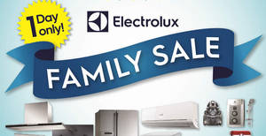 Featured image for Electrolux: Family Sale – One Day Only on 20 Aug 2016