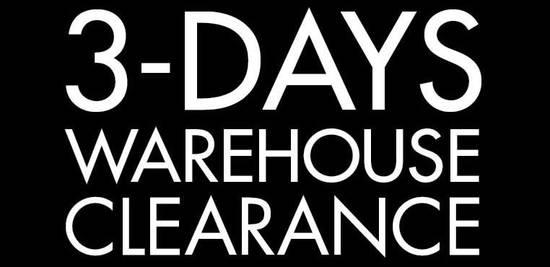 Lorenzo Warehouse Clearance Feat 27 Aug 2016