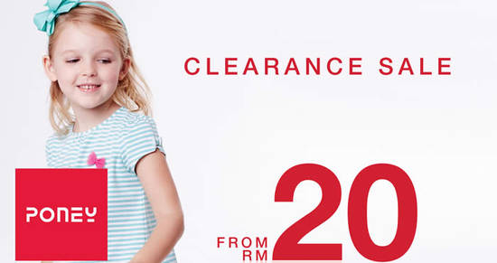 Poney Clearance sale Feat 26 Aug 2016