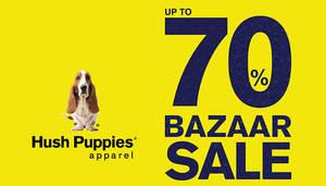 Featured image for Hush Puppies Apparel: Bazaar Sale at Aeon Bandaraya Melaka from 13 – 25 Sep 2016