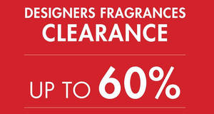 Featured image for Parkson: Designers Fragrances Clearance at KLCC from 22 – 28 Sep 2016
