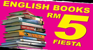 Featured image for Popular: RM5 Fiesta English Books Fair at Viva Home from 9 – 18 Sep 2016