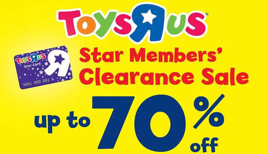 Toys R Us Feat 12 Sep 2016