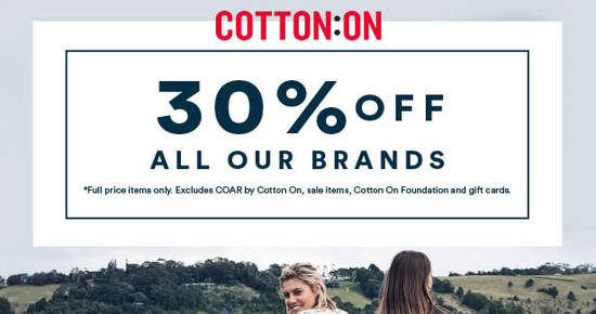 Cotton On Feat 18 Oct 2016