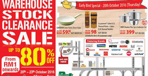 Featured image for Katrin BJ Warehouse Stock Clearance SALE at Subang Jaya from 20 – 23 Oct 2016