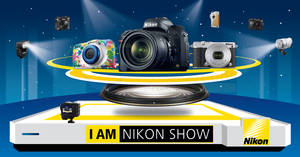 Featured image for Nikon: I AM Nikon Roadshow 2016 at Mid Valley Megamall from 26 – 30 Oct 2016