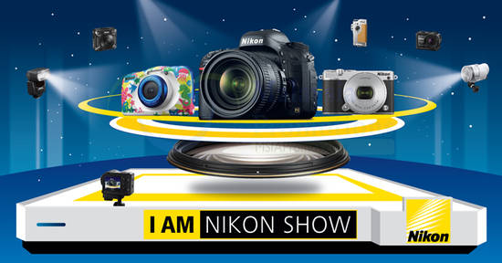 Featured image for Nikon: I AM Nikon Roadshow 2016 at Mid Valley Megamall from 26 - 30 Oct 2016