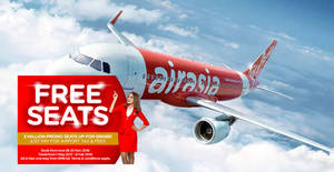 Featured image for Air Asia's free seats promotion is back with 3 million promo seats up for grabs from 14 – 20 Nov 2016