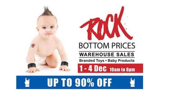 Babylove Warehouse Sale Feat 23 Nov 2016
