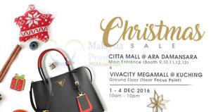 Featured image for Celebrity Wearhouz designer handbags sale up to 60% off at Ara Damansara & Kuching from 1 – 4 Dec 2016