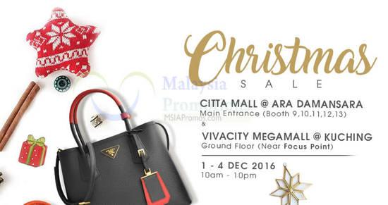 Featured image for Celebrity Wearhouz designer handbags sale up to 60% off at Ara Damansara & Kuching from 1 - 4 Dec 2016
