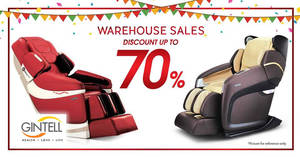 Featured image for Gintell warehouse sale at Kuala Lumpur from 1 Dec 2016 – 1 Jan 2017