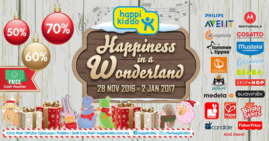 Featured image for Happikiddo Year-End Christmas Sale from 28 Nov 2016 - 2 Jan 2017