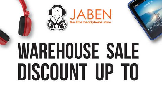 Jaben Warehouse Sale Feat 11 Nov 2016