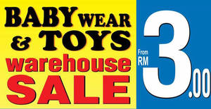 Featured image for Jetz Babies Wear & Toys Warehouse Clearance Sale at Hotel Sri Petaling from 10 – 20 Nov 2016