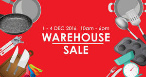Featured image for Katrin BJ warehouse stock clearance sale at Subang Jaya from 1 – 4 Dec 2016