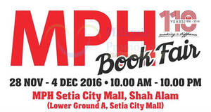 Featured image for MPH Book Fair offers up to 50% off at Setia City Mall from 28 Nov – 4 Dec 2016
