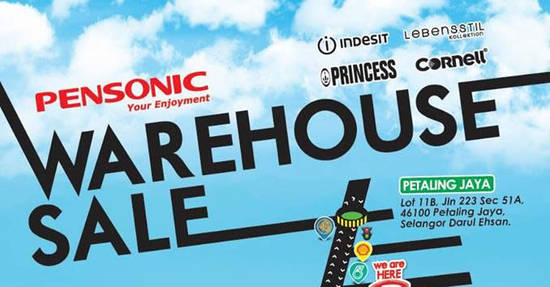 Pensonic Warehouse Sale Feat 22 Nov 2016